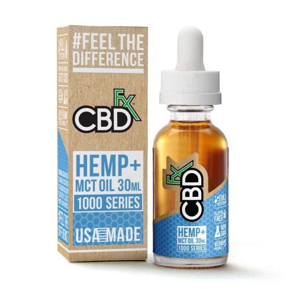 CBDfx Tincture Oil