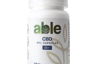 ABLE CBD Gel Capsules