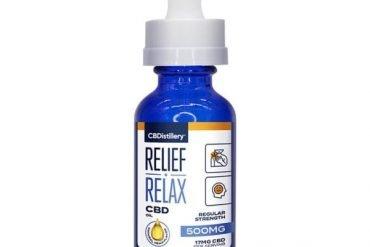 CBDistillery Relief Relax CBD Oil tincture