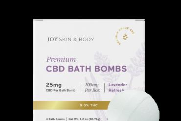 Joy Organics CBD Bath Bombs