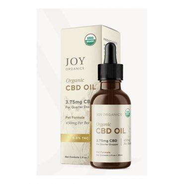 Joy Organics CBD Oil Broad Spectrum Tincture for Pets