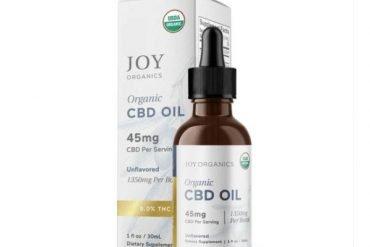 Joy Organics Broad Spectrum CBD Oil Tincture