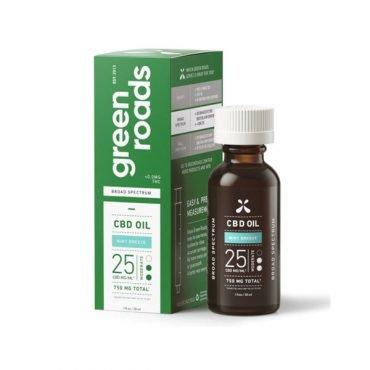 Green Roads Mint Breeze Broad Spectrum CBD Oil
