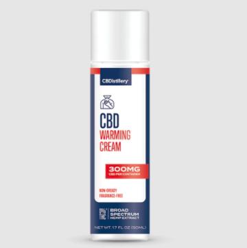 CBDistillery CBD Warming Cream