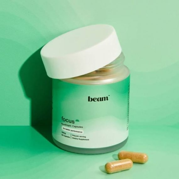Beam CBD focus capsules