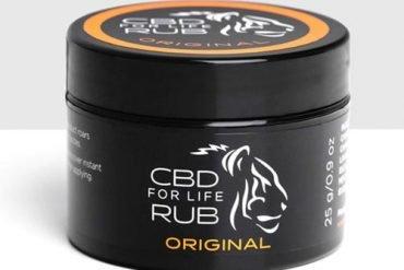 CBD for Life rub original