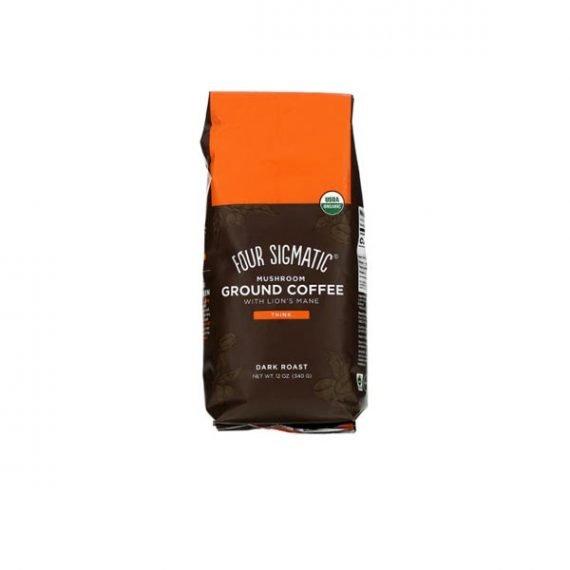 Four Sigmatic Ground Mushroom Coffee With Lion's Mane
