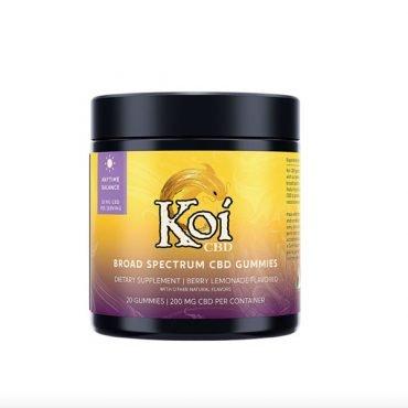 Koi CBD anytime balance gummies
