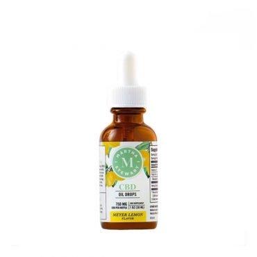 Martha Stewart CBD Meyer Lemon Oil Drops