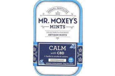 Mr. Moxey's Calm CBD Mints Peppermint