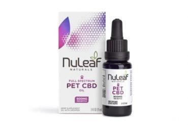 NuLeaf Naturals Full Spectrum CBD Pet Oil