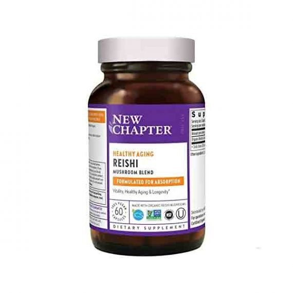 Healthy Aging Reishi Mushroom Blend from New Chapter