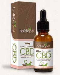 Holistapet best CBD oil for pets and cats