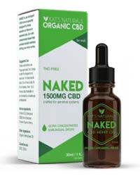 Kat's Naturals pure CBD isolate oil