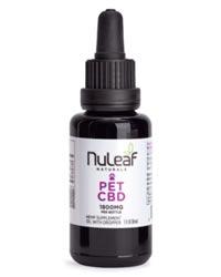 NuLeaf Naturals Best CBD Oil for Cats 2021