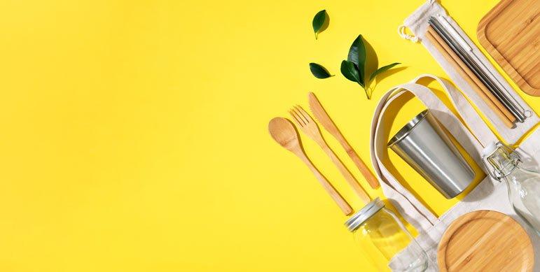 Plastic-free kitchen tips