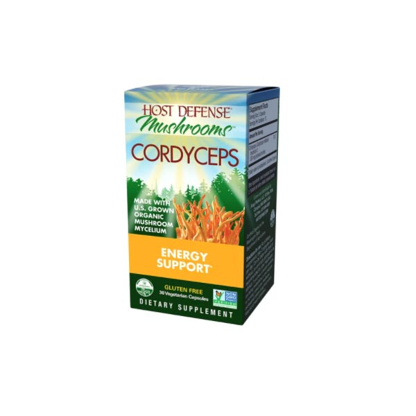 Host Defense Cordyceps Capsules