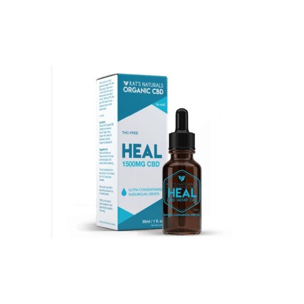 Kat's naturals Heal CBD Oil