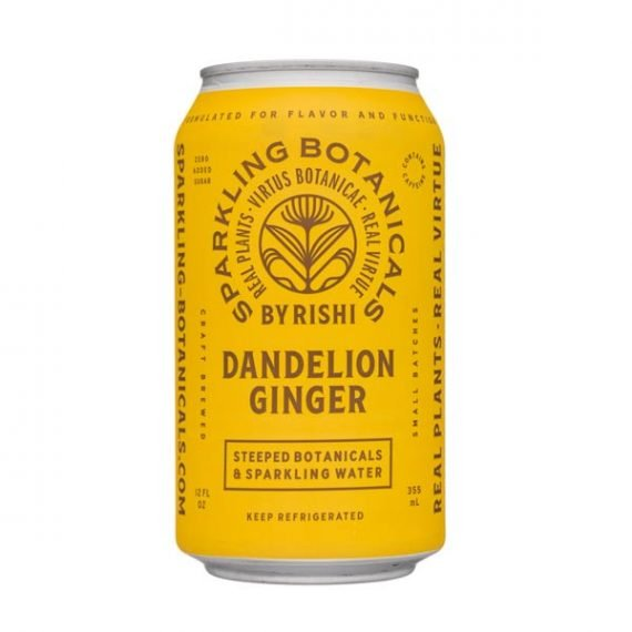 Rishi Sparkling Botanicals Dandelion Ginger